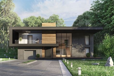Types Of Modern Home Exterior Designs With Fashionable And