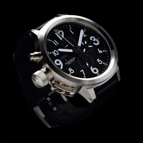 U Boat Watch Collection by U Boat Flightdeck 50 Automatic Chronograph Gents Watch 6117