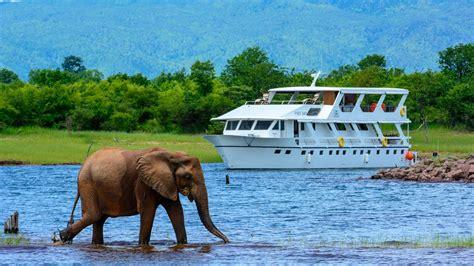 Boats Zimbabwe by Lake Kariba Lake Houseboat Safaris Kariba Zimbabwe