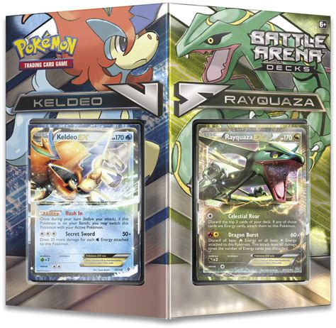 to be released in keldeo vs rayquaza battle arena