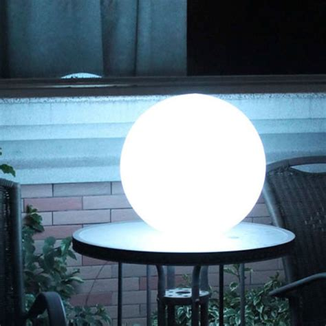 boule lumineuse led patio 216 25 cm boules lumineuses sans fil