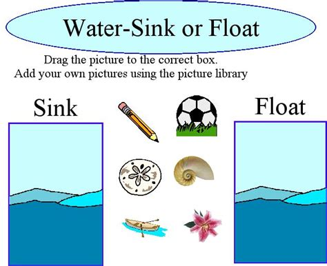 free coloring pages of sink or float