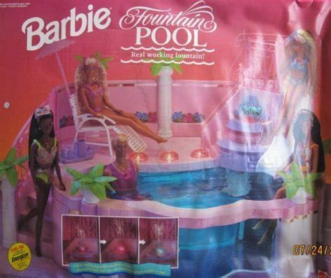 pool w working deck lights that shine in more 1993 by mattel