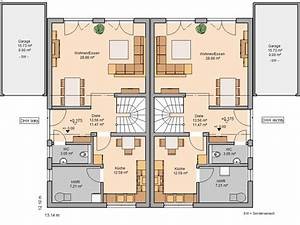 Grundriss Doppelhaushälfte Seitlicher Eingang : grundriss doppelhaush lfte ~ Markanthonyermac.com Haus und Dekorationen