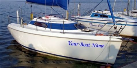 Boat Names Female by Vinyl Diy Signs For Boat And Yacht Names And Decals And