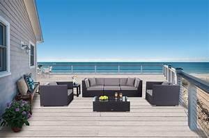 Rattanmöbel Garten Lounge : rattanm bel garten lounge president braun rattan lounge rattan gartenm bel ~ Markanthonyermac.com Haus und Dekorationen