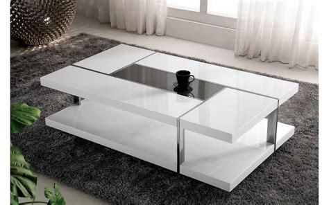 table de salon bois laqu 233 noir comforium
