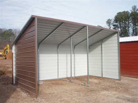 loafing shed metal kit