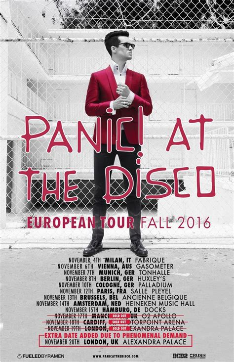 panic at the disco concert tickets panic at the disco salle pleyel tickets