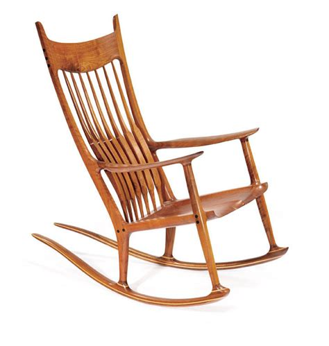 just in sam maloof rocking chair