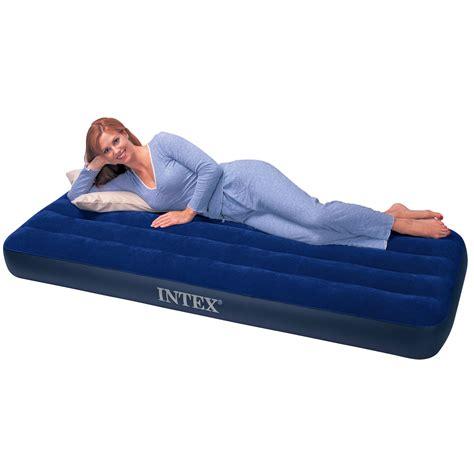 intex single size air bed airbed mattress