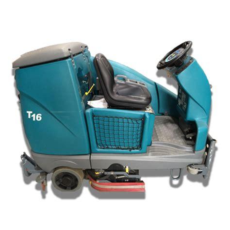 tennant t16 industrial micro rider scrubber kwik fix