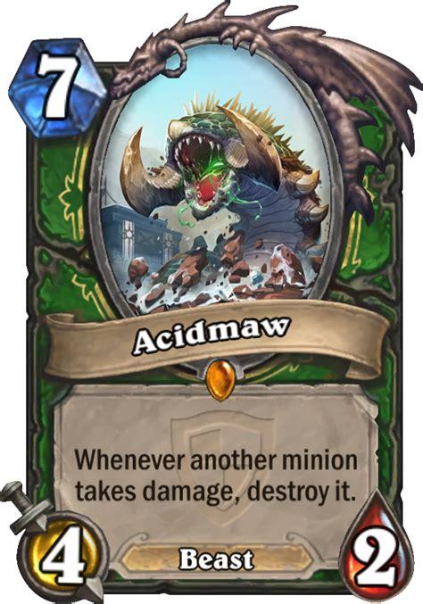 acidmaw hearthstone card