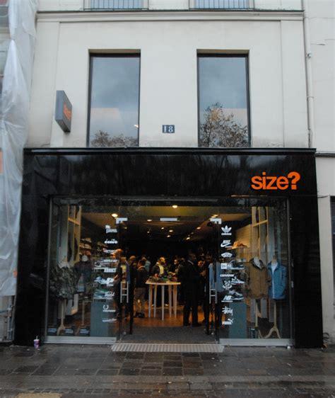 la boutique de sneakers size va ouvrir 224 chatelet le site de la sneaker