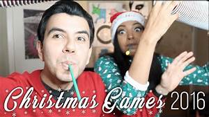 Annual Christmas Games 2016 | christmas party games - YouTube