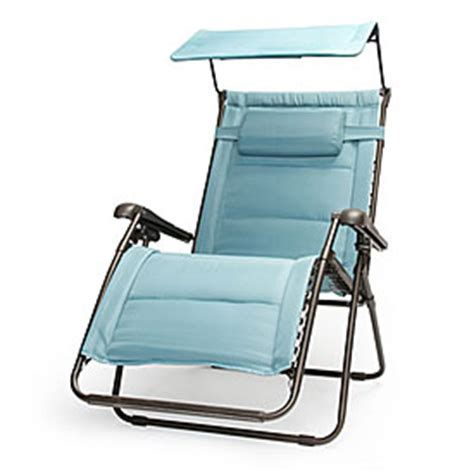 view wilson fisher 174 oversized padded zero gravity chair with canopy deals at big lots