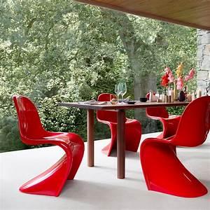 Panton Chair Rot : panton chair by vitra in our interior design shop ~ Markanthonyermac.com Haus und Dekorationen