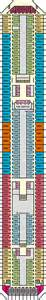 Carnival Triumph Deck Plan 7 by Carnival Triumph Cruise Ship Deck Plans On Cruise Critic