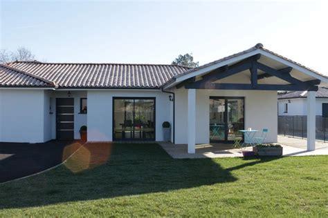 prix construction maison contemporaine toit plat maison moderne