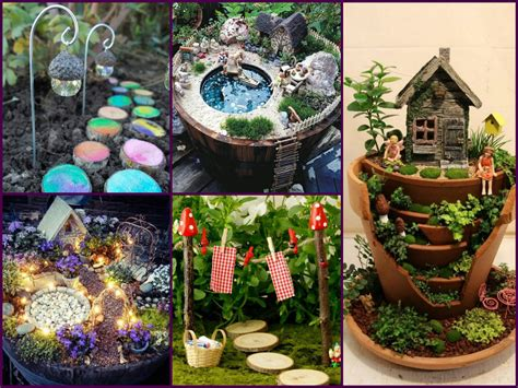 Diy Outdoor Fairy Garden Ideas Diy Ideas For Kitchen Ikea And Inspiration Open Plan White Replacement Cabinet Doors Yellow Decorating Decor Small Kitchens To Paint A Simple Design
