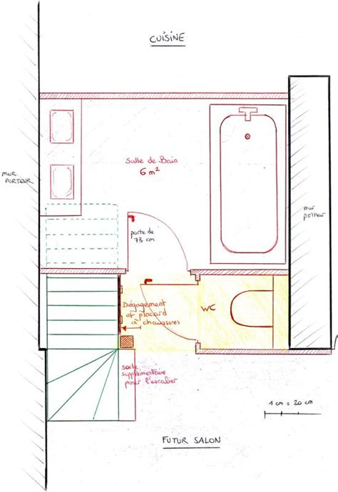 plan d 233 finitif de la salle de bain la maison des leymuriens