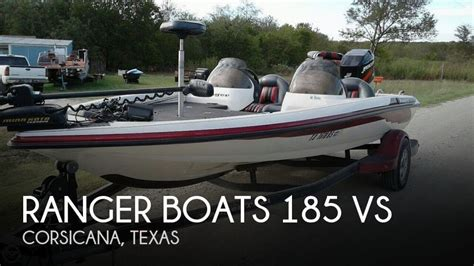Ranger Boats For Sale Texas by For Sale Used 2003 Ranger Boats 185 Vs In Corsicana Texas