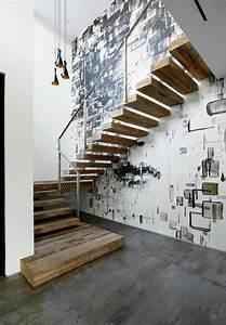 Treppenaufgang Außen Gestalten : ausgefallene treppengel nder designs f r die innentreppe ~ Markanthonyermac.com Haus und Dekorationen