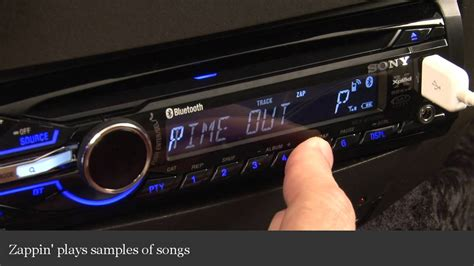 Sony Xplod Deck Demo Mode by Sony Xplod Mex Bt3900u Car Receiver Display And Controls