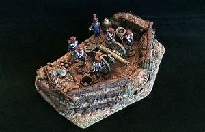 Analogue Hobbies: Earthen Artillery Emplacement from Forge ...