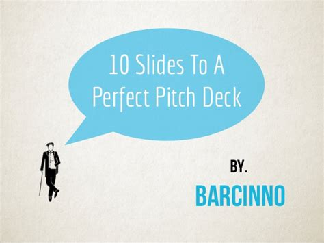 how to make the startup pitch deck