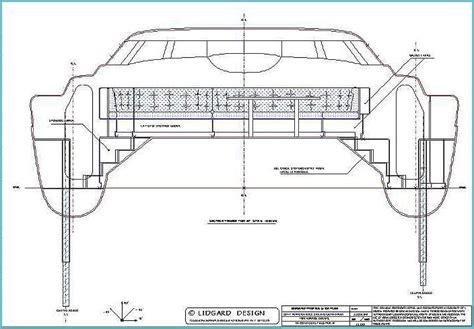 Catamaran Hull Dimensions by 50 Ft Sailing Multihull Catamaran