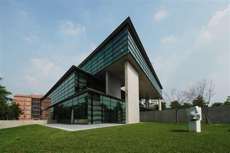 triangular geometry defines asia museum of modern by tadao ando