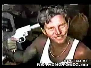 Darwin Awards - Man shoots himself with flare gun - YouTube