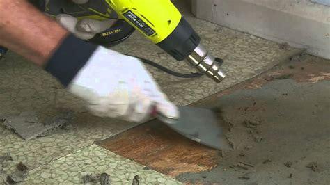 how to remove vinyl floor diy at bunnings