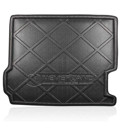 X3 Rubber Boot Liner by Rear Trunk Tray Boot Liner Cargo Mat Floor Protector For
