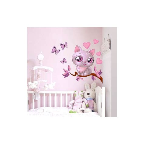 stickers chambre bebe fille pas cher paihhi