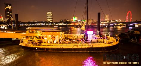 Party Boat East London by Back To School Spanish Boat Party Bar Co London
