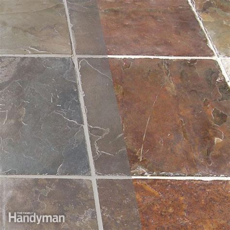 how to remove grout from tile the family handyman