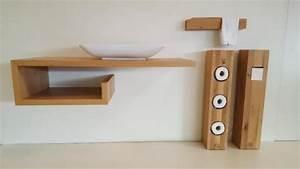 Waschtischplatte Mit Schublade : waschtisch waschtischplatte u form eiche massiv holz natur neu in m nchen maxvorstadt ~ Markanthonyermac.com Haus und Dekorationen