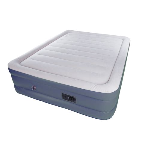 air mattress at kmart stansport high deluxe air bed built in