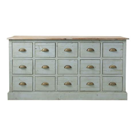 comptoir multi tiroirs meuble de m 233 tier en bois recycl 233