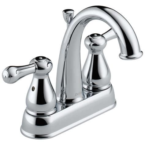 delta 2575 leland 2 handle centerset lavatory faucet chrome ebay