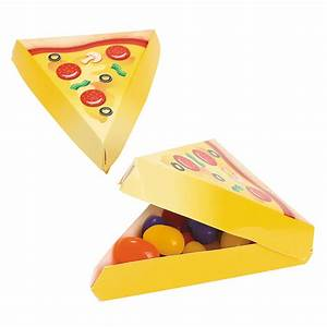 Mini Pizza Party Favor Boxes - Oriental Trading - Discontinued