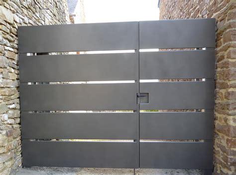 portail en fer forg 233 acier ou inox portail motoris 233 vdv ferronnerie