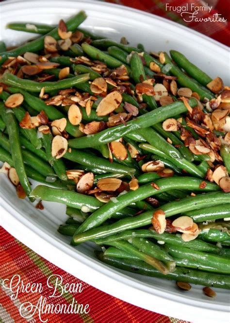 An Easy, Classic Side Dish! Green Beans Almondine Pairs