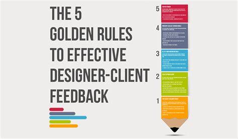 5 Golden Rules To Effective Designer  Client Feedback Cgfrog