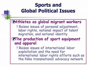 Sports in Society: Issues & Controversies - ppt download