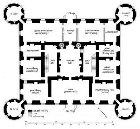 ayton castle floor plans castles palaces house inveraray castle floorplan floors castles
