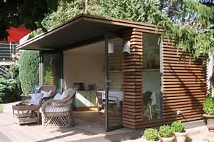 Gartenhaus Modernes Design : kubisch gartenhaus von fmh metallbau bild 7 sch ner wohnen ~ Markanthonyermac.com Haus und Dekorationen