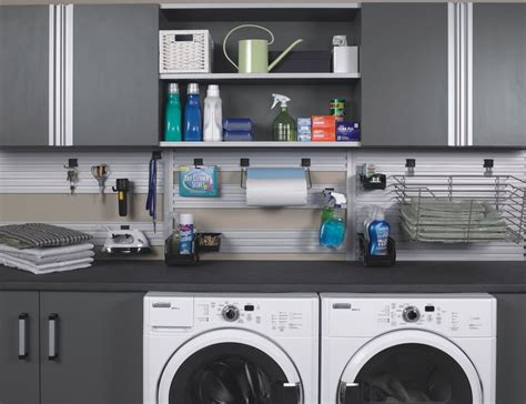 Laundry Room In Garage Decorating Ideas